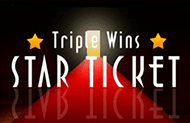 Triple Wins star Ticket онлайн играть